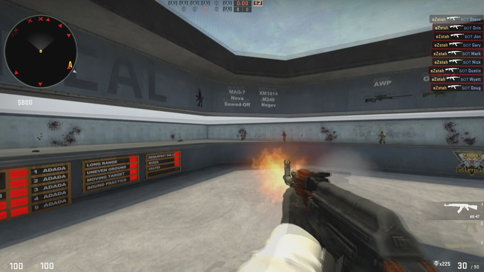 Detailed Training Guide for CS:GO - Tips for Shooting and