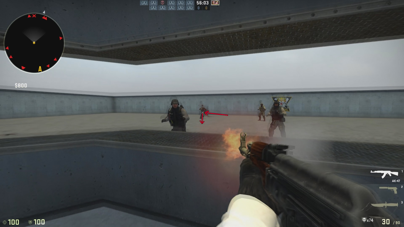 Cs go flick training
