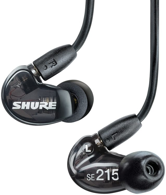 Shure SE215-K Sound Isolating Earphones