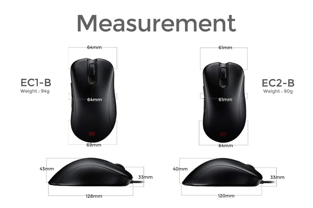 ZOWIE gaming mouse
