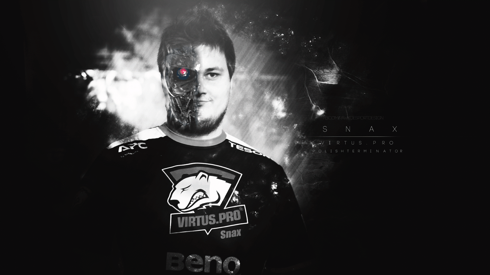Snax CS:GO wallpaper 1600x900