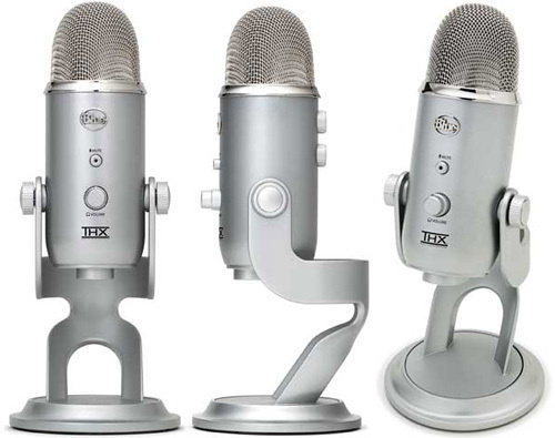 Blue Microphones Yeti USB – Silver Edition