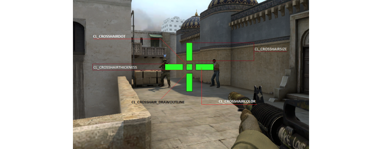 Changing the Crosshair color and Style