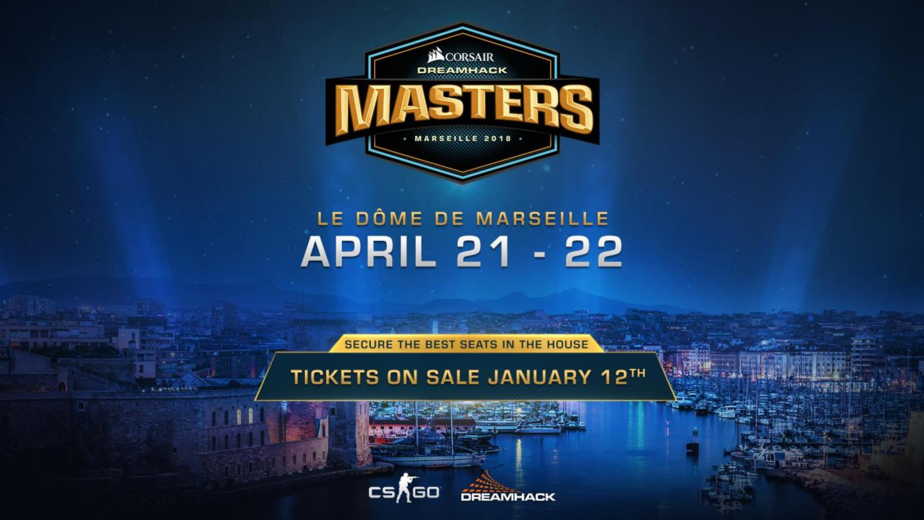 DreamHack Masters Marseilles 2018
