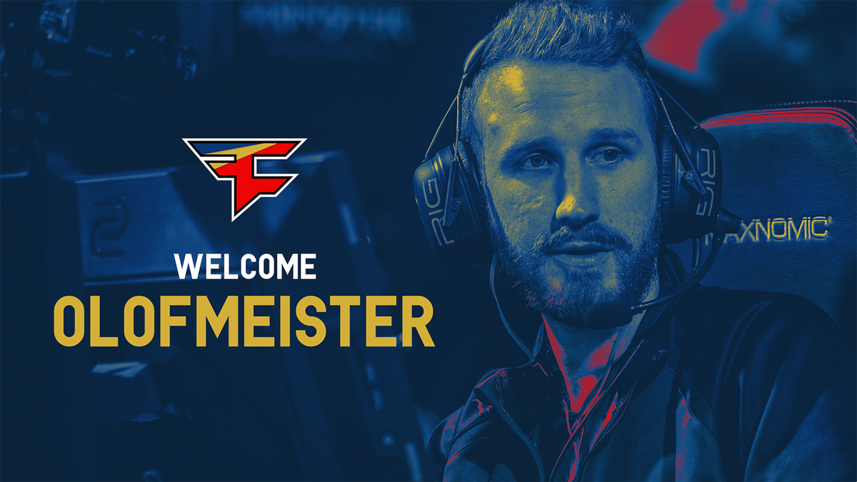 Olofmeister: Star Gamer In  a no Less Star Team