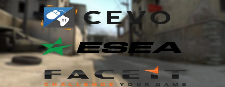 Understanding the Main difference between ESEA FACEIT and CEVO