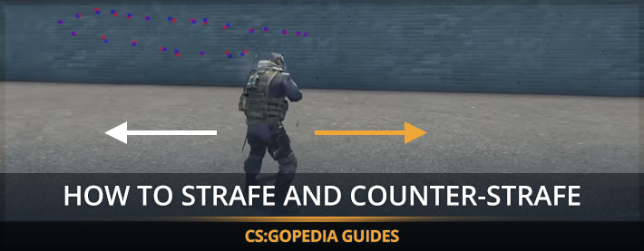 How To Play CS:GO Tutorials - Strafing and Counter-Strafing Guide